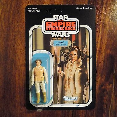 Vintage Star Wars 41 Back ESB Action Figure Leia (Hoth Outfit)