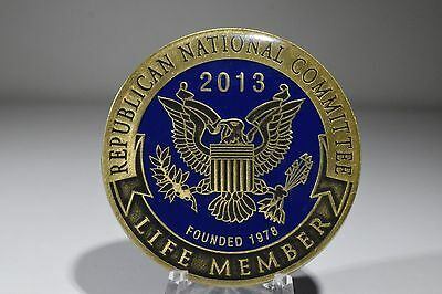 """Authentic 2013 Republican National Committee Life Member Coin / Medallion 2"""""""