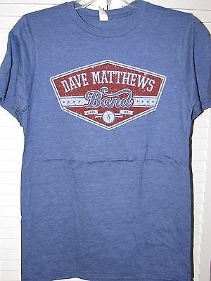 Dave Matthews Band Athletic Logo Shirt Small NEW! Royal Blue