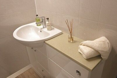 Acrylic Shower Wall Liner Panels - Tile Effect, 2440mm x 1220mm