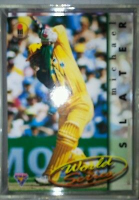 1995/96 Futera Cricket Trading Cards Complete Base Set; 110 cards