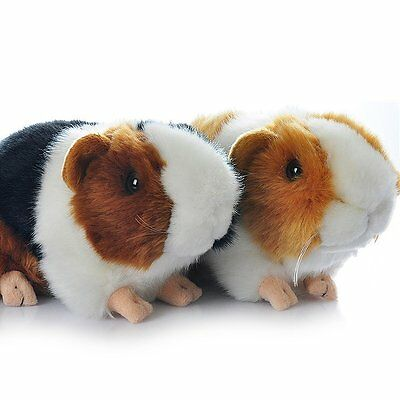 Gold/White Guineapig/Guinea Pig Plush Soft Toy brown/black Cute Guinea Pig toys