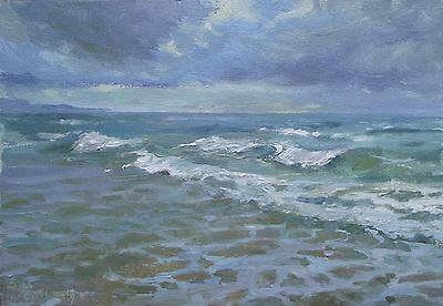 The BEST !!! Russian Soviet impressionism realism oil painting .