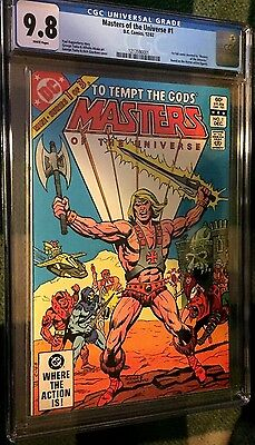 Masters Of The Universe (1982) # 1 White Pgs Graded Cgc 9.8 Nm/mt (1213590001)