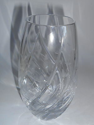 Crystal Cut Decor small Mid Century Retro/Vintage Vase