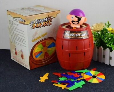 Toys Boy Girls Pirate Barrel Game Toys Stab Barrel Lucky Party Games