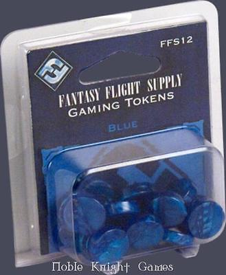 Fantasy Flight Boardgame Accessory Gaming Tokens - Blue MINT