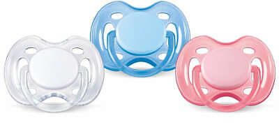 Philips AVENT Soother Freeflow 0-6m - SCF178/23 - COLOURS/DESIGNS MAY VARY