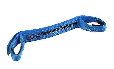 (10 Pack) Load Restraint, Car Carrying Strap With Loops, Wheel Strap, Towing