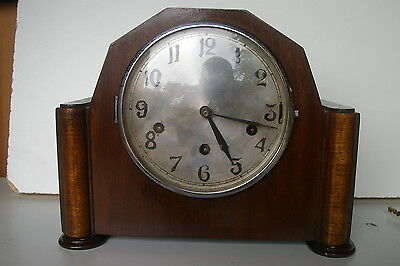 Vintage Double chiming  mantle clock/Germany