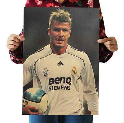 David  Beckham 23 Papery Posters Bedroom living room Background wall sticker
