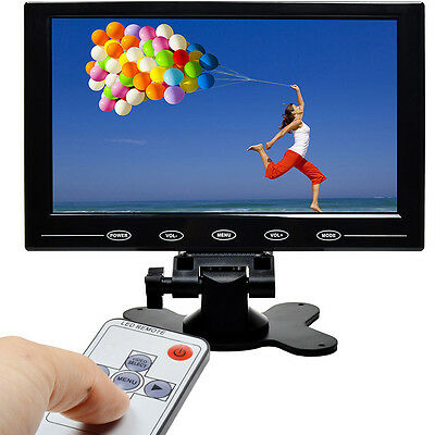 9 Inch TFT LCD Display Screen HDMI VGA Video Audio Monitor for TV PC UK STOCK