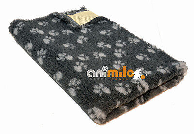 Tapis Confortbed Vetbed Dry anthracite pattes grises 50x75 cm 20 mm