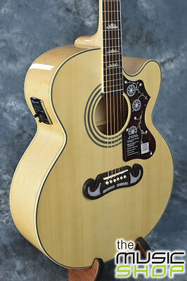 Epiphone EJ200SCE J200 Style Acoustic Electric Jumbo Guitar -Natural Finish 673