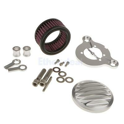 Chrome CNC Air Cleaner Intake Filter for Harley Sportster XL883 1200 X48