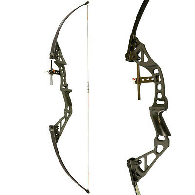 Sanlida Archery Takedown Adjustable Longbow - 30-50lbs - Starter bow
