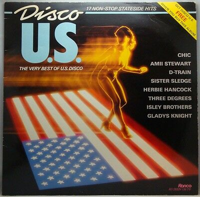 The Best Of Disco U.S. Various Artists LP
