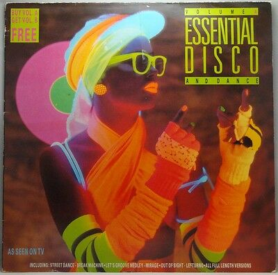 Essential Disco And Dance Various Artists Volume A LP