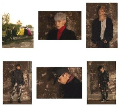 BIGBANG MADE [THE FULL ALBUM] YG Pre Order Official Photo Post Set (6p) Limited