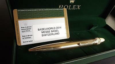 Rolex Gold Wave Penl Dome Pearl Master New Boxed & rolex cufflinks