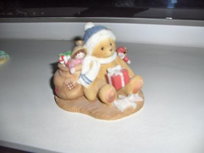 CHERISHED TEDDIEs evan may your christmas be trimmed in happiness 1998