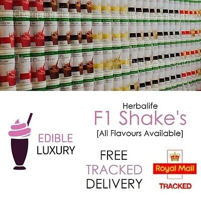 HERBALIFE | UK FORMULA 1 | Delicious Protein Shake Meal | New Sealed Tub | 550G