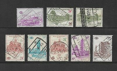 BELGIUM - Railway Parcels stamps, mixed collection No.12, incl surcharge