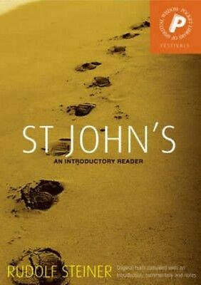 St John's: An Introductory Reader by Rudolf Steiner Paperback Book (English)