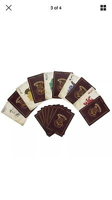 "Harry Potter Hogwarts Playing Cards in Metal Tin  ""Official Merchandise"""