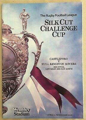 CASLTEFORD V HULL KR. Rugby League Cup Final 1986.