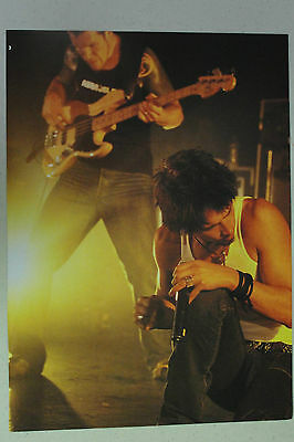 AUDIOSLAVE Full Page Pinup magazine clipping fantastic stage shot