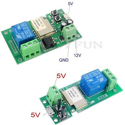 Sonoff  ITEAD WiFi Wireless Smart Switch Relay Module for Smart Home 5V 5V/12V