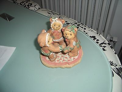 Cherished Teddies missy cookie &riley 1998