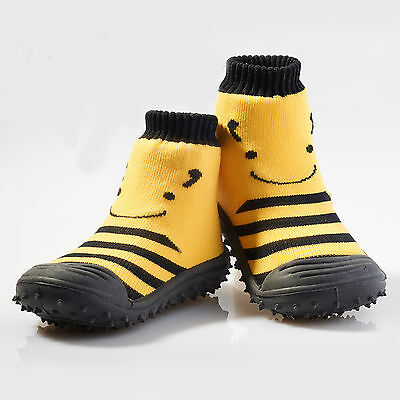 NEW Busy bee non-slip socks by TOTSOX