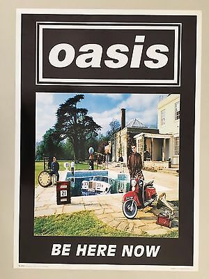 Oasis,be Here Now, Authentic 1997 Poster