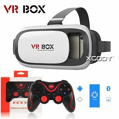3D VR Virtual Reality Glasses For Samsung Galaxy S7 Edge S6 S5 S4 Note 5 Iphone