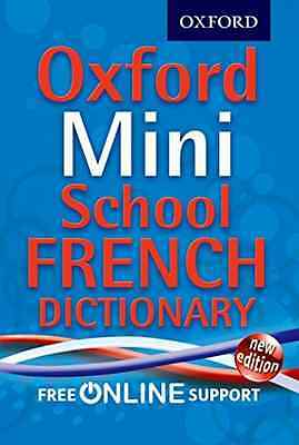 Oxford Mini School French Dictionary, Good Condition Book, Oxford Dictionaries,