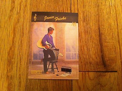 Vintage JANIE FRICKE Academy Of Country Music Trading Card #55 Collect-A-Card