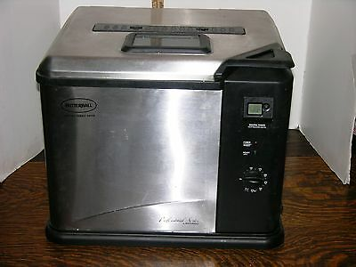 Masterbuilt Butterball Electric turkey fryer stainless Steel 14 lbs 23010811