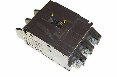 Crabtree C50 60Amp mcb circuit breaker Type 2 triple pole 60A 240/415v 3 phase