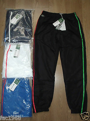 Lacoste Andy Roddick Trackpants Tracksuit Trousers Bottoms Pants Tennis New BNWT