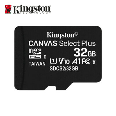 Kingston 32GB Micro SD SDHC/SDXC Class10 Tarjeta de Memoria  80MB /s + Adaptador