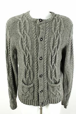 Distler Strickjacke Gr. 46 100% Wolle Trachten Cardigan Strick Knit Jacket
