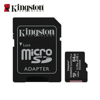 Kingston 8GB Micro SD SDHC/SDXC Class4 Tarjeta de Memoria + Adaptador