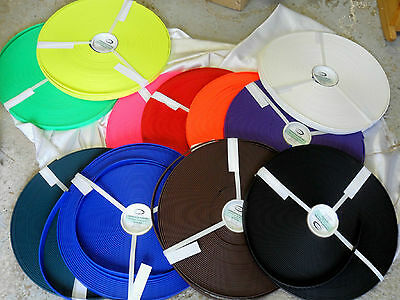 "100' Roll Beta Biothane Super Heavy 3/4"" 1ST Quality! NEW Colors!"