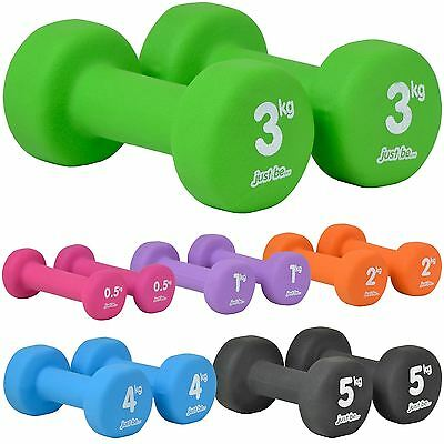 just be... Dumbbells Exercise Anti Slip Ladies Weights Hand Home Gym Dumbell Set