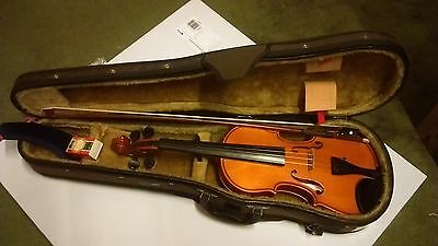 Andreas Zeller Threequarter Size 3/4 Violin Oufit