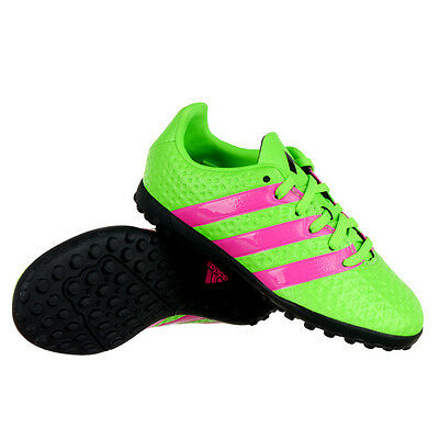 f3c20192c7 Adidas ACE 16.4 TF Junior Football Trainers Soccer Shoes Turfs Astro Soles