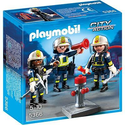 PLAYMOBIL® CITY ACTION Feuerwehr-Team 5366