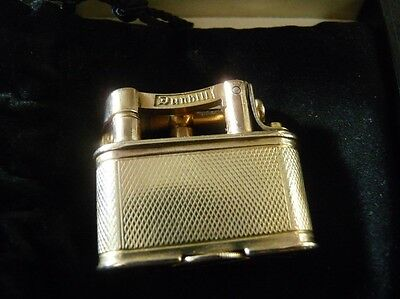 Very Rare Dunhill  9ct Gold Unique Lighter, London 1929. in Excellent Condition